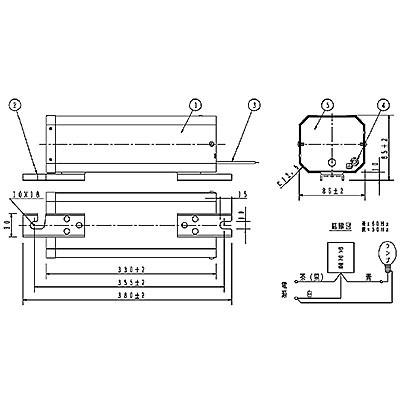 ハイゴールド(効率本位形) 水銀灯安定器点灯形(始動器内蔵形) 60Hz用 360形 一般型 高効率 100V
