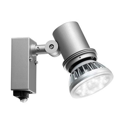 屋外スポットライト レディオック シルバー センサ付 防雨形 E26 100V用(ランプ別売)