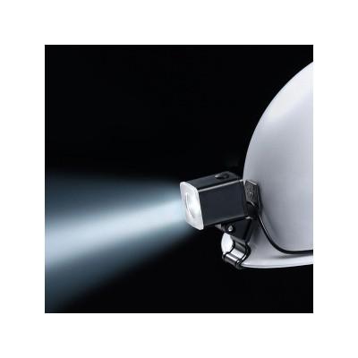 LEDヘルメットライト(MP型ヘルメット用) 遠方照射タイプ 狭角 クリップ式