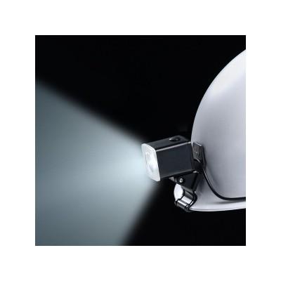 LEDヘルメットライト 遠方照射タイプ 防滴構造クリップ式