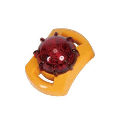 LED点滅器 レッド 防塵・防水タイプ マグネット付