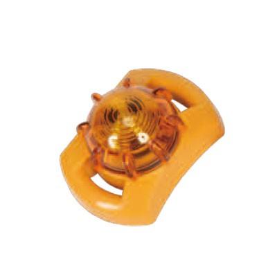LED点滅器 イエロー 防塵・防水タイプ マグネット付