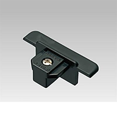 ライティングレール用エンドキャップ(埋込型) 黒