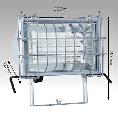 フロスター65S 蛍光灯ライト 65W コード長:5m