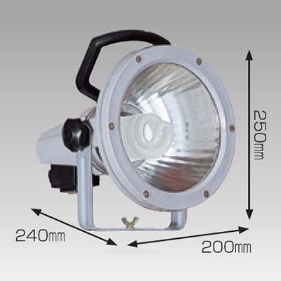 蛍光灯ライト 27W ラッパライト27 バイス式 コード長:5m