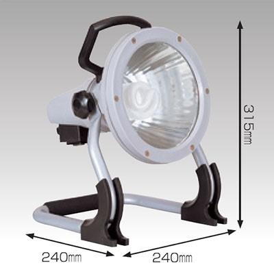 蛍光灯ライト 27W ラッパライト27 床スタンド式 コード長:5m