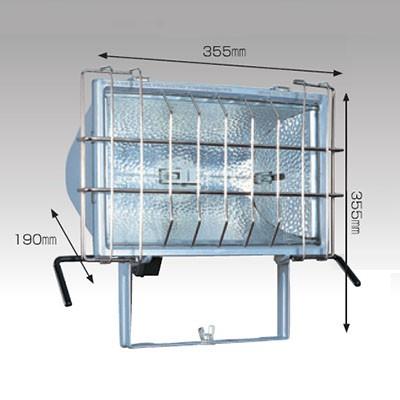 ハロゲンライト 1000W ツインハロスター1000 コード長:5m