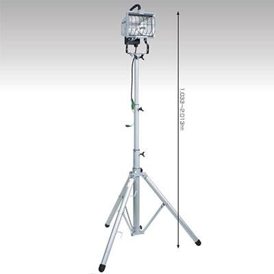 ハロゲンライト 500W ハロスター500 三脚セット コード長:5m