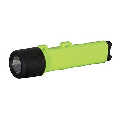 LED防爆懐中電灯 アンバー 防雨形 超高輝度スーパーLED1.5W 乾電池式