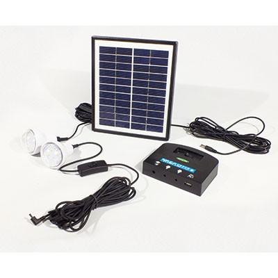 LED常備灯 ソラりん LED1W×2灯 ソーラー発電式