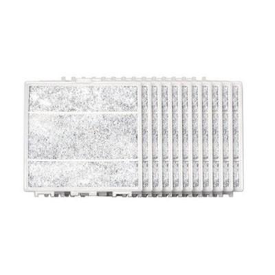 交換用空気清浄フィルター 樹脂製差圧式レジスター専用10枚セット