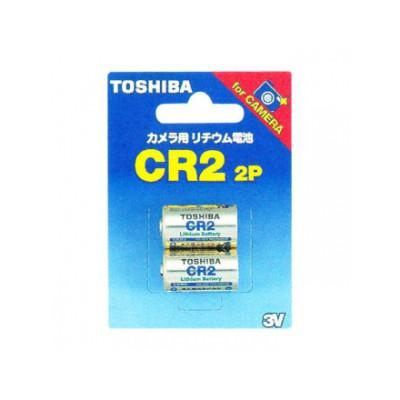 カメラ用リチウム電池 3V 10mA 850mAh 2個入 4904530015359