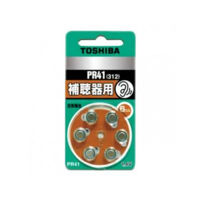 補聴器用空気電池 公称電圧:1.4V サイズ:径7.9×総高3.6mm 6個入 4904530062193