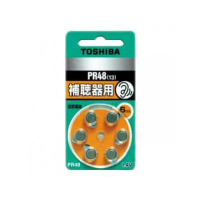 補聴器用空気電池 公称電圧:1.4V サイズ:径7.9×総高5.4mm 6個入 4904530062216