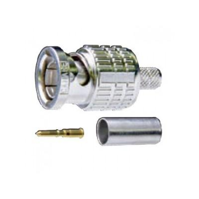 75ΩBNC型プラグ 圧着式 ストレート型 BCP-Aシリーズ 3C用