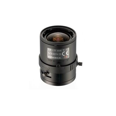 業務用防犯カメラ ALIVIO マニュアルアイリスバリフォーカルレンズ f=2.8〜11mm/F1.4