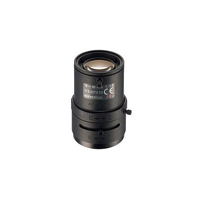 業務用防犯カメラ ALIVIO マニュアルアイリスバリフォーカルレンズ f=10〜40mm/F1.4