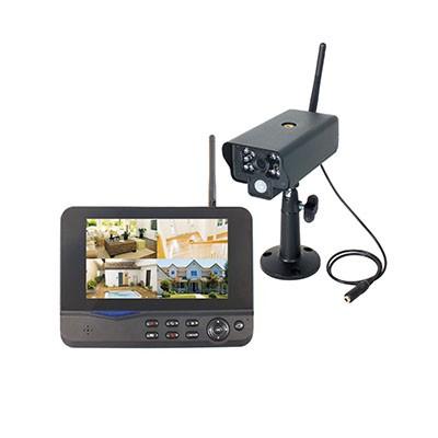 モニタリングカメラ 防雨型(カメラのみ) 最大送受信距離300m