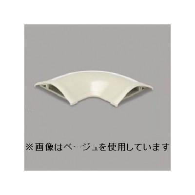 平面マガリ 5号 ブラック 床面用配線モール ガードマンII付属品