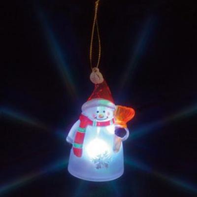 LEDクリスタルモチーフ 電池式 屋内仕様 スノーマン