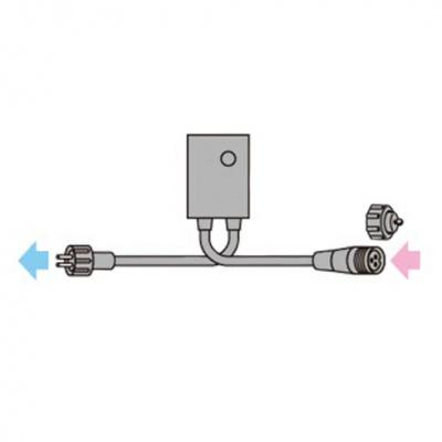 SJシリーズ 点滅周期コントローラー 出・入力ケーブル長:各1.8m