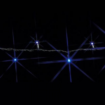 LEDストリング SJシリーズ 20.4W 1.2A 25.2VA サイズ:30m 白/青