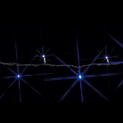 LEDストリング SJシリーズ 13.6W 0.8A 16.8VA サイズ:20m 白/青
