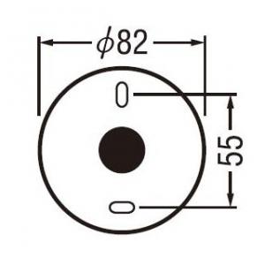 スリムダクトLD 仮設用穴ふさぎプレート 90タイプ 画像4