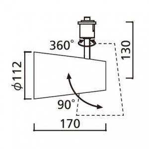 継手付き断熱ドレンホース 《ドレンあげゾウ》 ERエルボタイプ ホース長:700mm 適合VP管:A-20A/B-25A 画像5