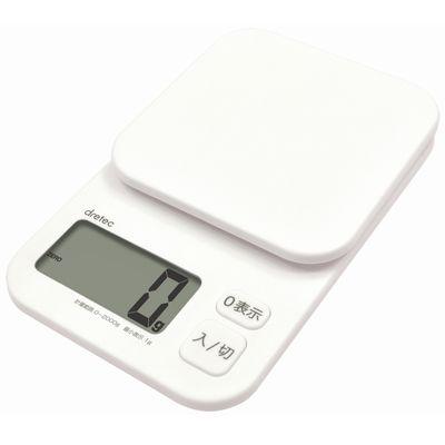 デジタルスケール「トルテ」 2kg ホワイト