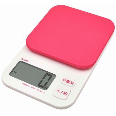 デジタルスケール「トルテ」 2kg ピンク