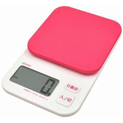 デジタルスケール「トルテ」 3kg ピンク