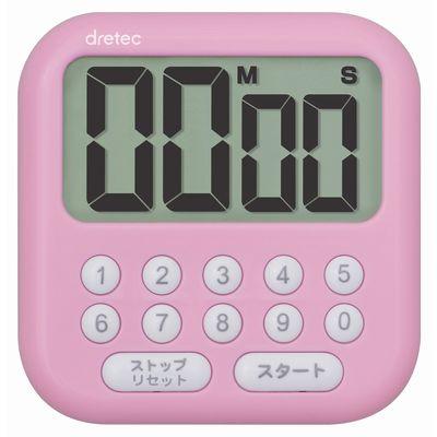 大画面タイマー「シャボン10」 ピンク