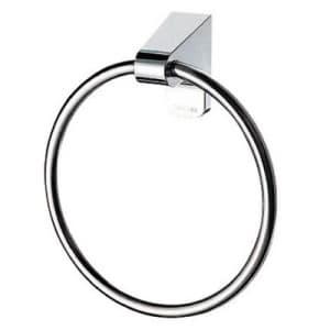 Lタイプタオルリング 洗面所用 ビス付 リング内径:140mm