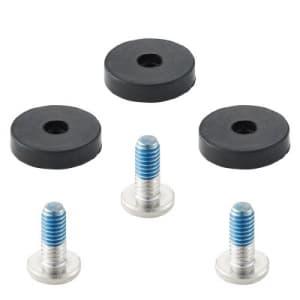 水栓固定節水コマパッキン パッキン・ビス各3個入 直径:14mm 寒冷地用 呼び13水栓用