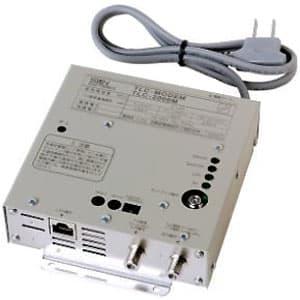 TLCモデム 同軸LANモデム TV信号混合機能付 壁面取付型