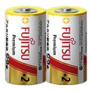 アルカリ乾電池 プレミアムタイプ 単2形 2個パック シュリンクパック