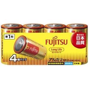 アルカリ乾電池 ロングライフタイプ 単1形 4個パック 多包装パック