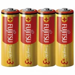 アルカリ乾電池 ロングライフタイプ 単3形 4個パック シュリンクパック