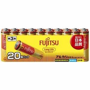 アルカリ乾電池 ロングライフタイプ 単3形 20個パック 多包装パック