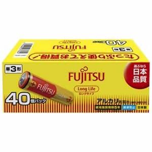 アルカリ乾電池 ロングライフタイプ 単3形 40個パック お買得パック