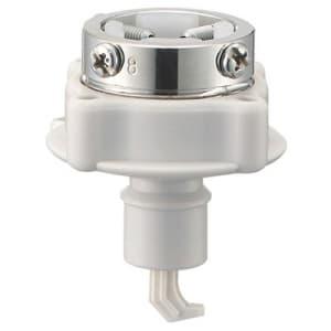 自動洗濯機元口 洗濯機用 吐水口径:14〜23mm ビス止め式 自動ストップ機能付