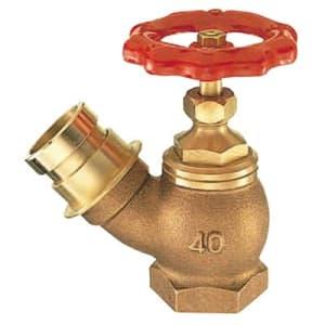 差込45°消火栓 圧力0.5MPa用 呼び:25