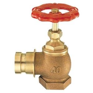 差込90°消火栓 圧力0.5MPa用 呼び:25