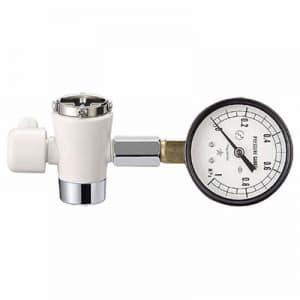 水圧計セット メンテナンス用品 上水道用 アダプター・シールテープ付