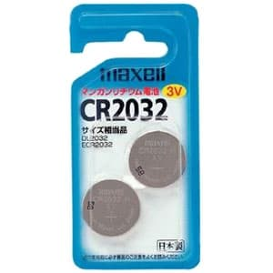 コイン形リチウム電池 3V 2個入