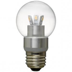 調光対応ボール型LED電球 電球色相当 約200lm E26口金