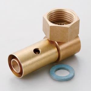 エルボユニオン アルミ複合管用ワンタッチ継手 呼び径:10A