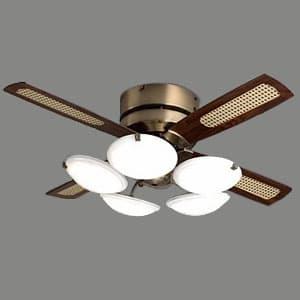 LEDシーリングファン 〜12畳用 調色・調光タイプ 昼光色〜電球色 風量切替機能付(高速・中速・低速)