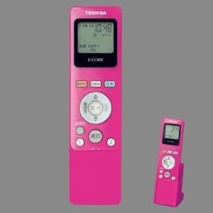 あとからリモコン LEDシーリング++専用節電見える化リモコン 楽エコセンサーなし ピンク